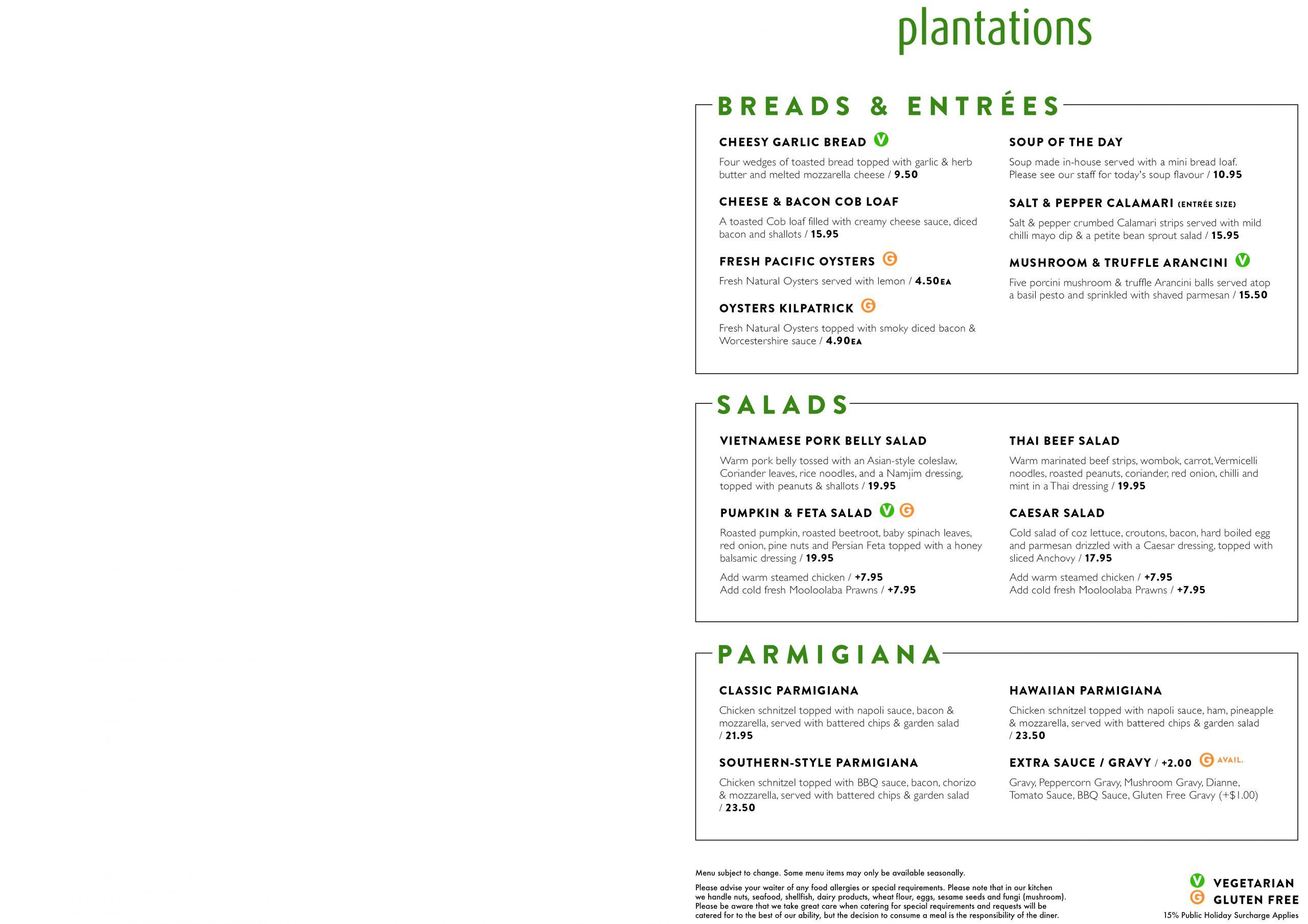 Plantations Menu Jan20 P1