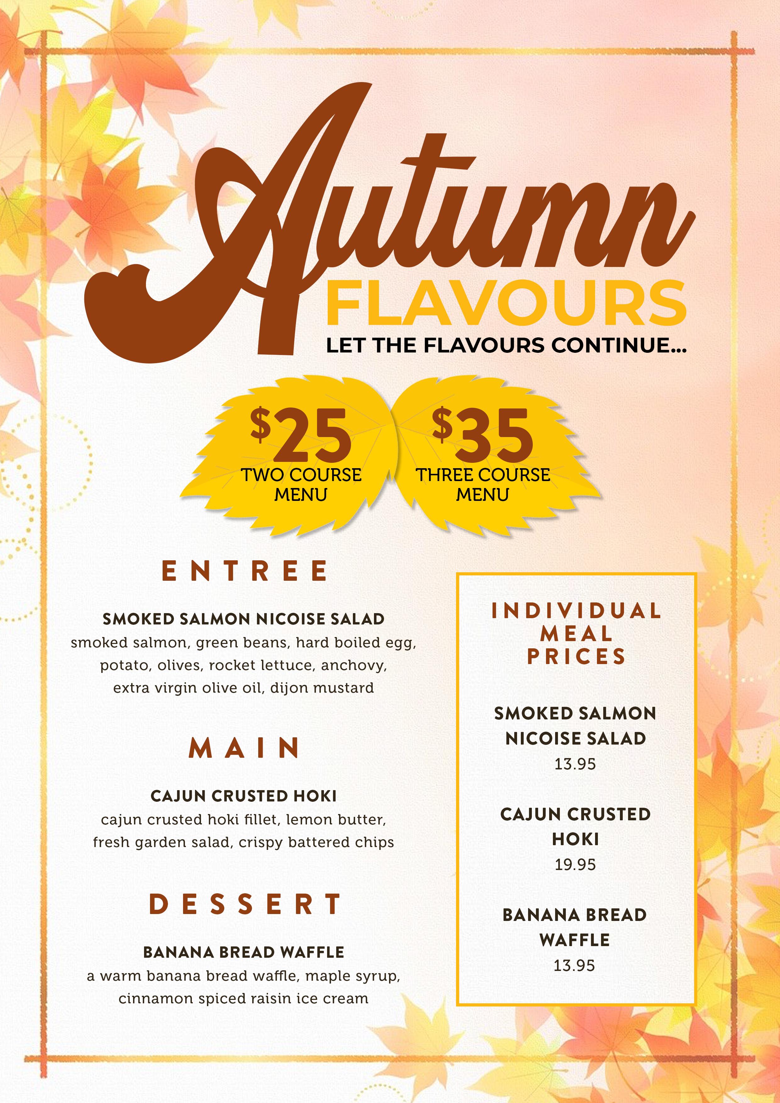 Autumn Flavours A4